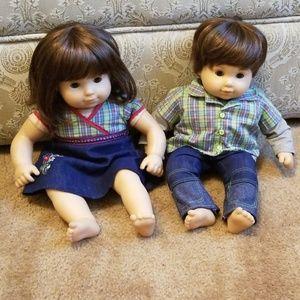 American girl twins